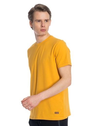 Slazenger Slazenger COBY Erkek T-Shirt Hardal Hardal
